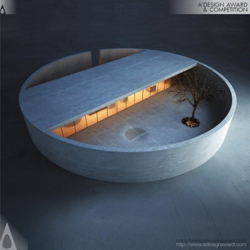 A' Design Award & Competition: The Ring House & Atelier by MZ Architects.