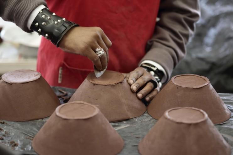 Clementina van der Walt ceramics. Image Henk Hatting.