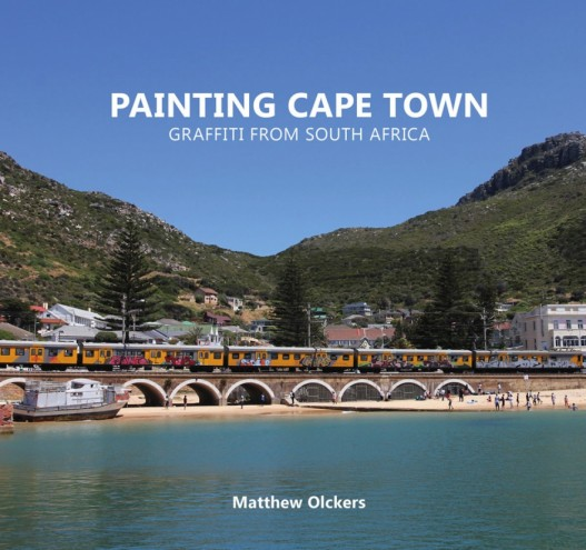 The cover of 'Painting Cape Town: Graffiti from South Africa'.