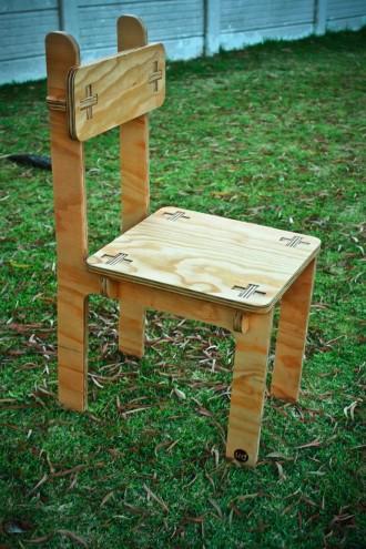 Chair by Unfayzd Design.