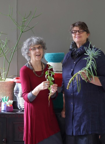 Peta Becker and Margaret Woermann, the talented duo behind Curious Room. Image: Henk Hattingh.