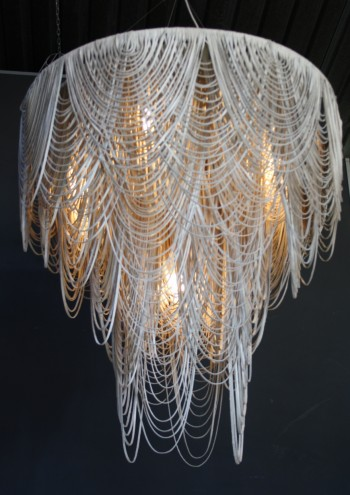 Whisper chandelier by High Thorn