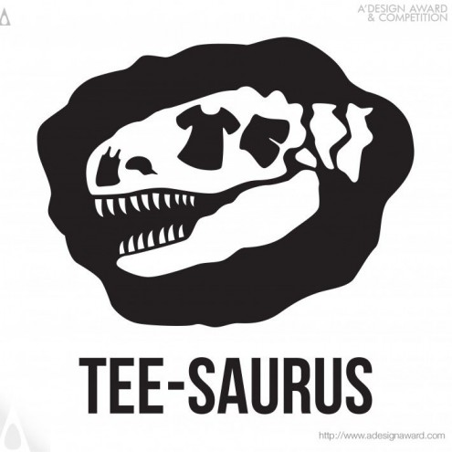 Tee-saurus Logo Design