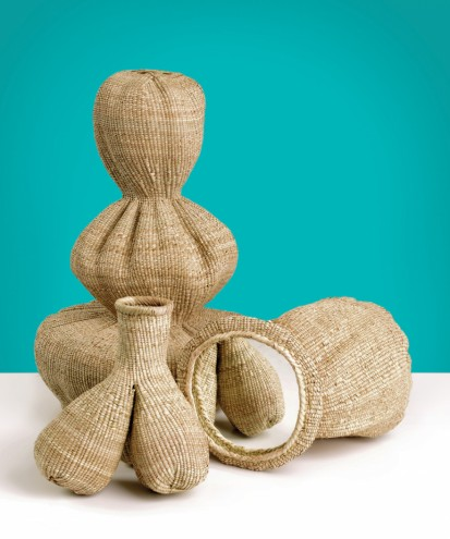 The Gourd's Family collection by Matali Crasset and the weavers of Bulawayo Home Industries. Photo: Matali Crasset.
