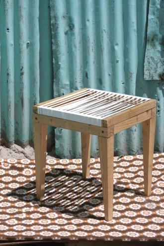 2015 Emerging Creative Bonga Jwambi's stool.