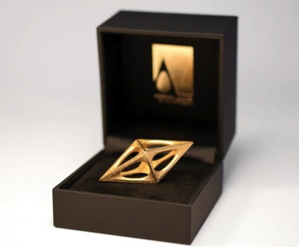 A' Design Award tropy.