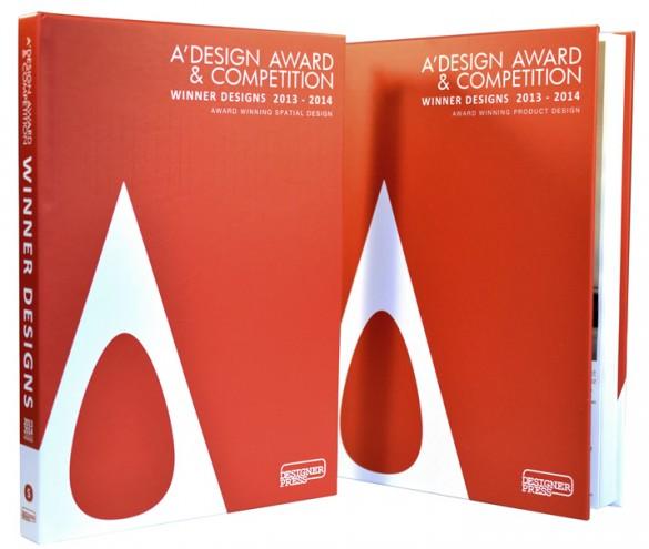 A'Design Awards annual book.