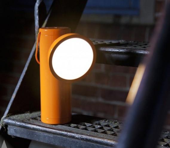 M Lamp by David Irwin.