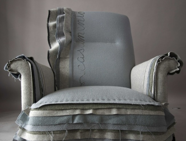 Clouds armchair by Casamento.