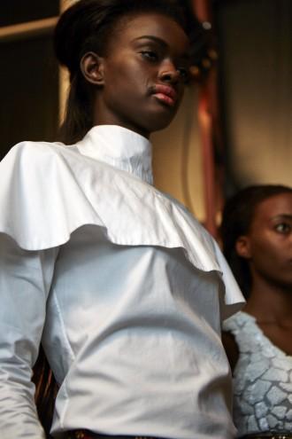 "David Tlale: ""Feminine Allure"" fashion show at Design Indaba Expo 2015."