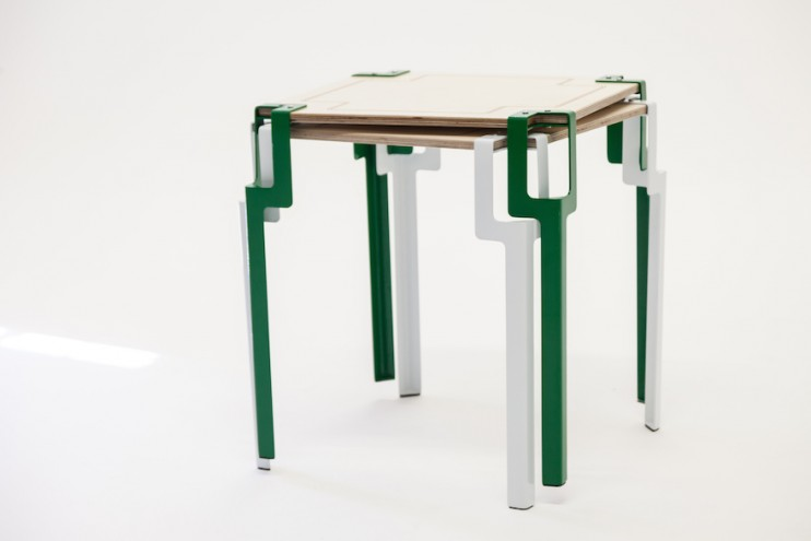 Pinda side table by Siyanda Mbele.