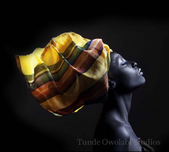 "Image from the exhibition ""The Woven Fabric"" by Tunde Owolabi."