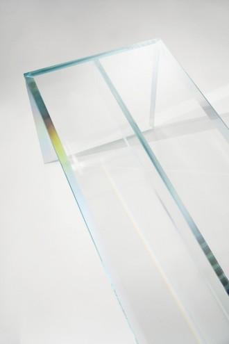 PRISM Bench by Tokujin Yoshioka for Glas Italia.