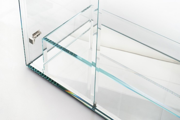 PRISM Cabinet by Tokujin Yoshioka for Glas Italia.