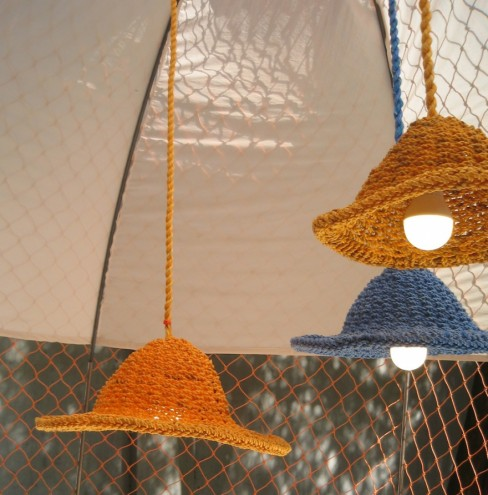 Rope Hope Lamp by Sep Verboom.