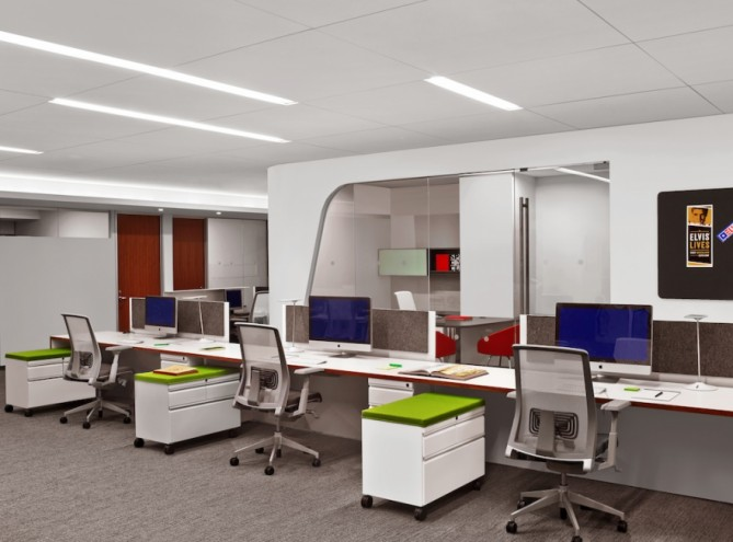 Interior for Core Media Group in New York.