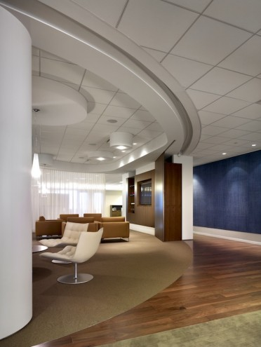 Interior for entertainment law firm Morris Yorn Barnes & Levine, in Los Angeles.
