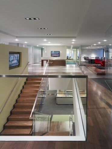Sheppard Mullin Richter & Hampton's Los Angeles offices was a LEED-certified renovation project.
