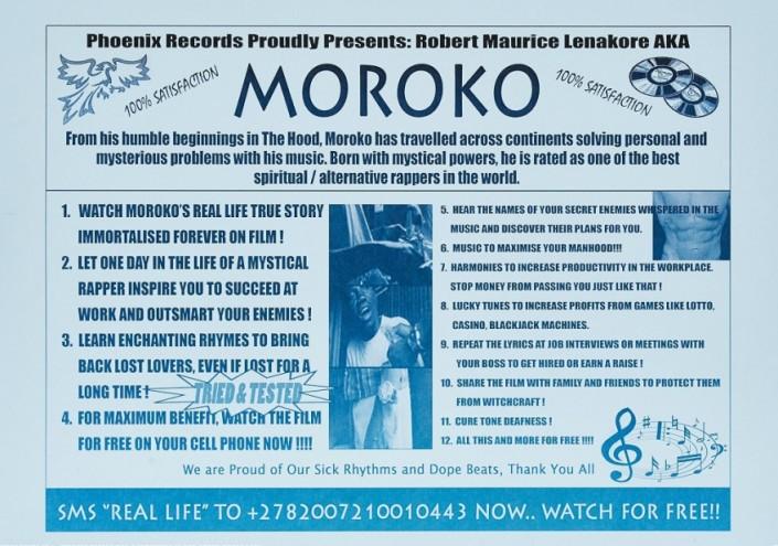 "A frame from ""Moroko (08.10.2012)"", 2013, a digital video by Sam Hopkins."