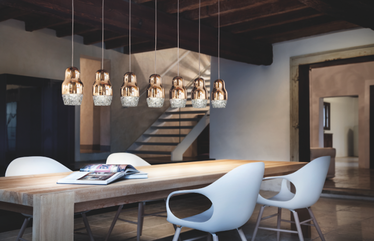 The Fedora light for Axo is inspired by the traditional Russian doll