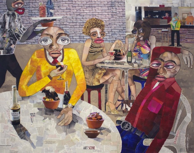 Guess Who's Coming to Dinner, a new exhibition at New York's Richard Taittinger Gallery.