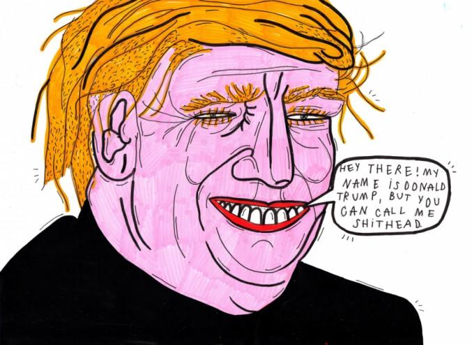 Lithuania-based illustrator Kot Bonkers is neither a political nor a feminist artist