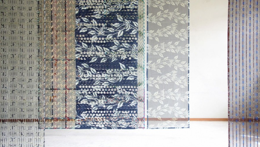 Design Academy Eindhoven graduate Simone Post is giving new life to the discarded wax prints from Vlisco by designing a series of interior products.