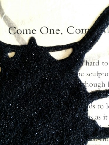 """Pages ripped from Lauren Beukes' thriller """"Broken Monsters"""" are being turned into once-off artworks and sold to raise money for a local literacy NGO"""