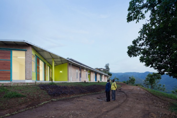 Architect Louise Braverman designed solar-powered housing for healthcare workers in the remote Burundian village of Kigutu