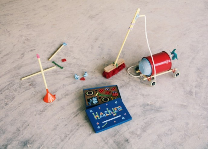 "David van der Stel has designed Hackjes, a set of connectors and add-ons created to help you ""hack"" household objects into creative objects."