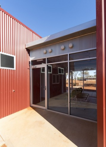 This community clinic in the Australian outback, designed by Kaunitz Yeung Architecture, won Best Sustainable Development of the Year at the LEAF Awards.