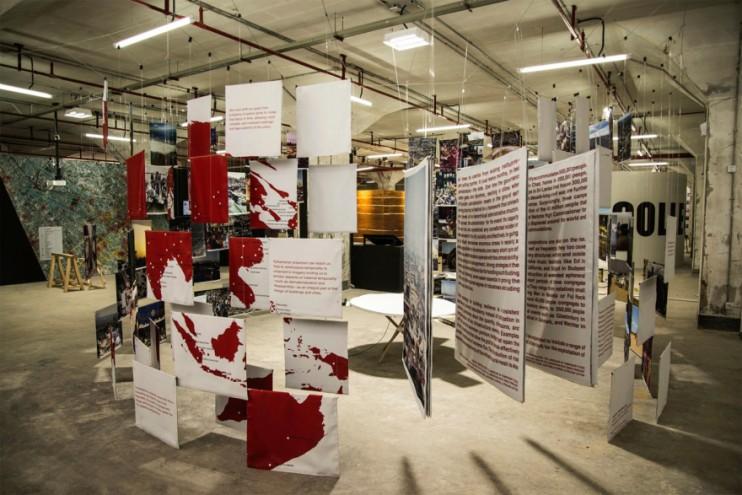 """""""Temporalities Radical"""" at Shenzen Biennale."""