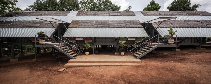 Vin Varavarn Architects, a Bangkok-based firm, developed a new architectural typology for earthquake resistant schools.