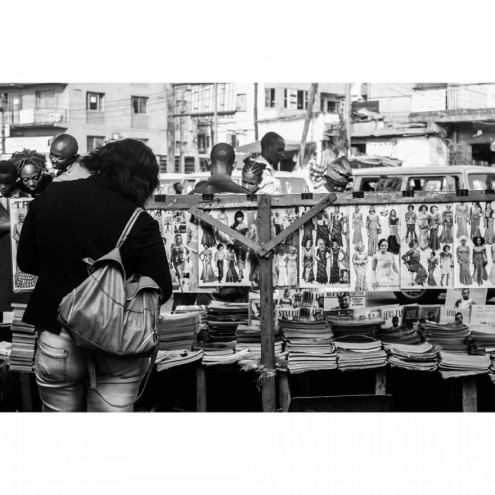 Logor Adeyemi captures the ordinary moments in Lagos, the extraordinary African metropolis known for wall-to-wall people and bumper-to-bumper cars.