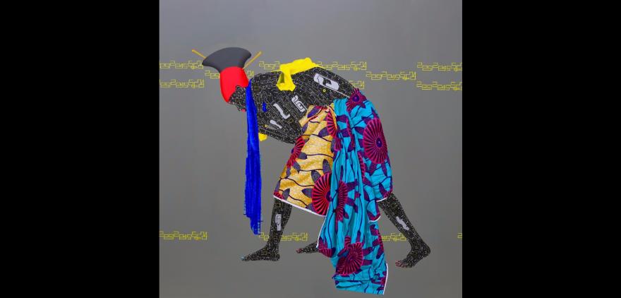 """No identity, no evolution"" by Eddy Kamuanga Ilunga."