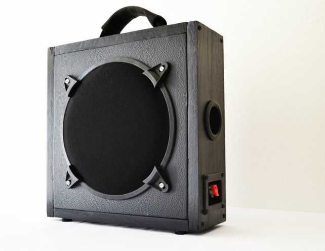 The Darkside boombox design