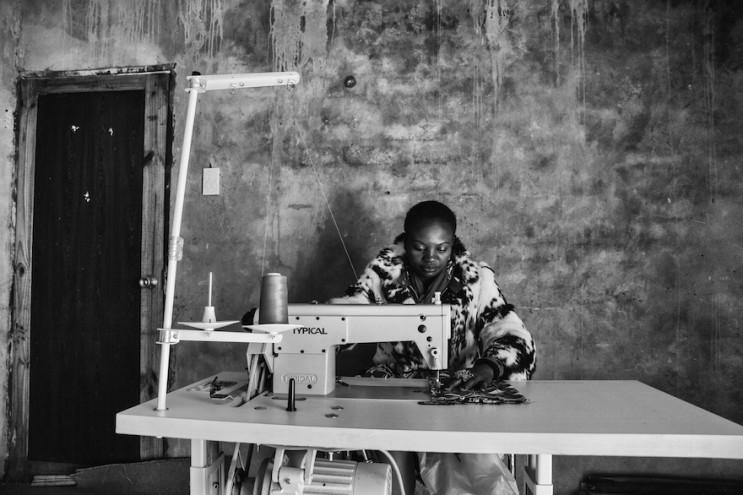Virginia Nhlapo is Rhiza Babuyile fashion graduate, now a fashion designer, from Orange Farm. Image: Exposure