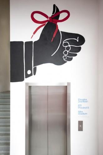 Communication, Best Illustration winner: Nike by Piet Parra.