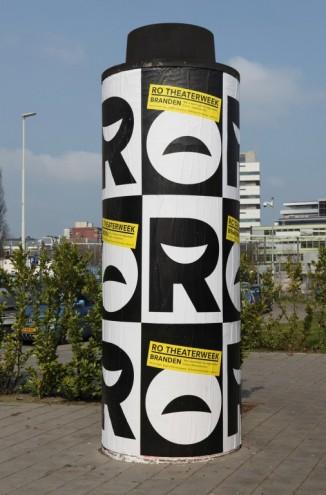 Communication, Visual Identity winner: RO Theater's identity by 75b.