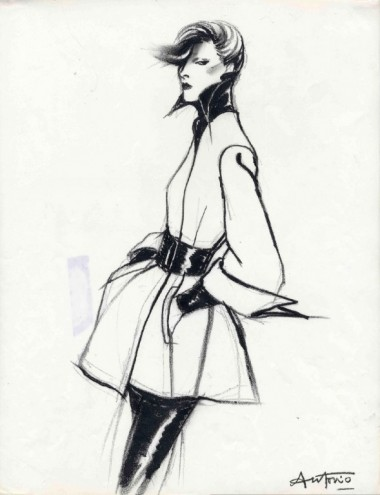 Antonio, Karl Lagerfeld, Vogue France.1972