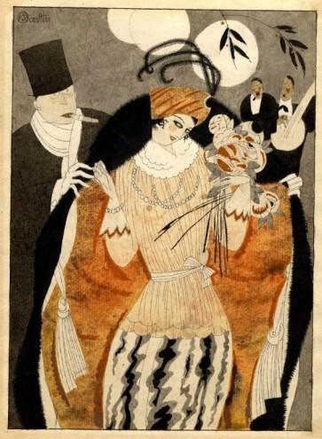 Martin, La Vie Chere. 1920.