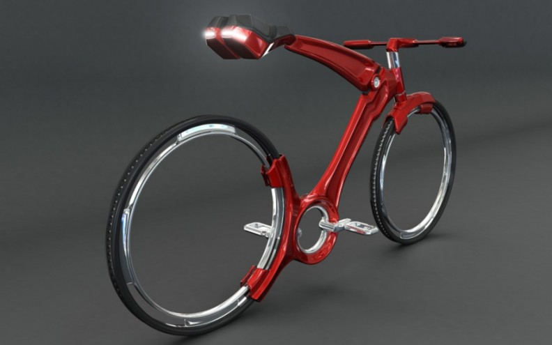 Futurist Bike by John Villareal.