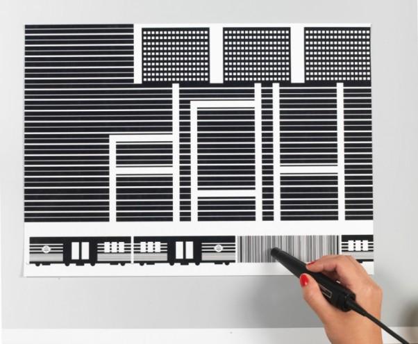 Barcode Book by Yuri Suzuki. Photo: Hitomi Kai Yoda.