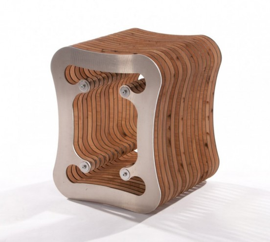 Diviso stool by Neil Macqueen.