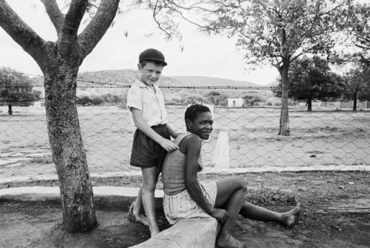 A farmer's son and his nursemaid.
