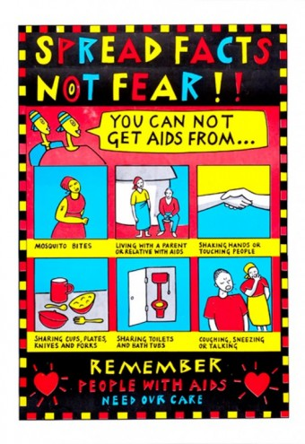 Aids Posters: Zimbabwe. Image via http://jump.dexigner.com/news/22023.