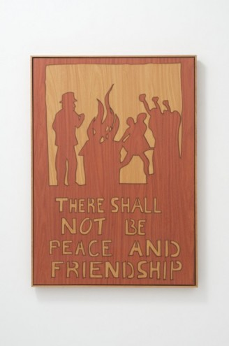 Freedom Charter: Peace and Friendship by Brett Murray.