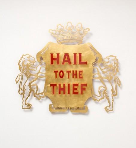 Hail to the Thief by Brett Murray.