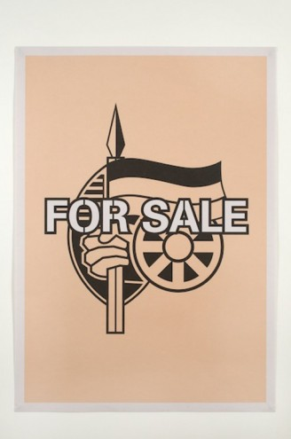 For Sale by Brett Murray.
