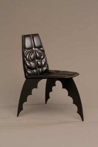 The Batman Chair, 1989 by Alex Locadia.